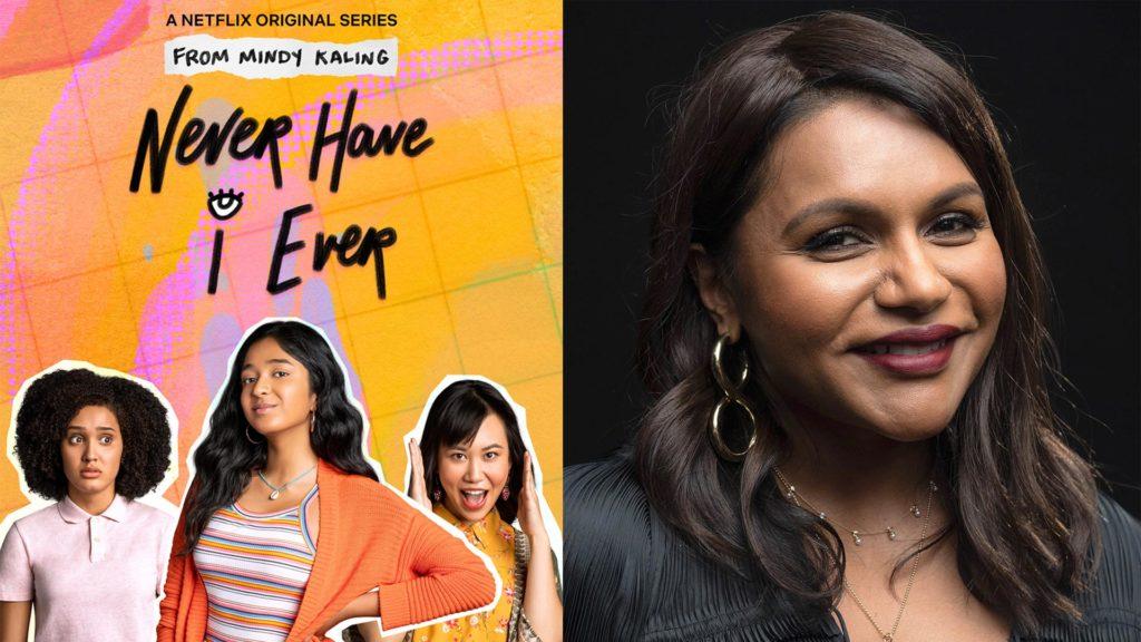 """Netflix-Serie """"Never Have I Ever"""" von der US-amerikanischen Autorin, Comedian und Schauspielerin Mindy Kaling (re.)"""